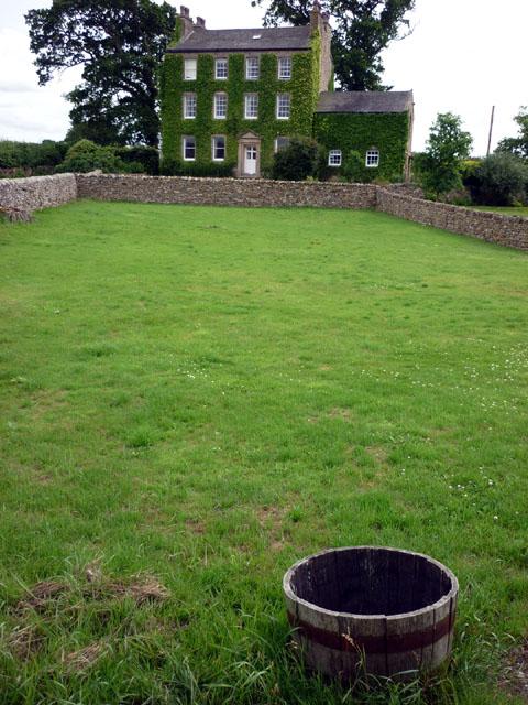 Ivy-clad house in Wrayton
