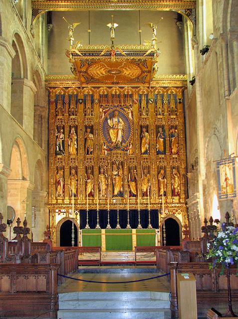 Wymondham Abbey - the chancel