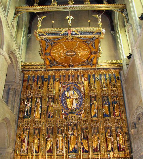 Wymondham Abbey - the reredos