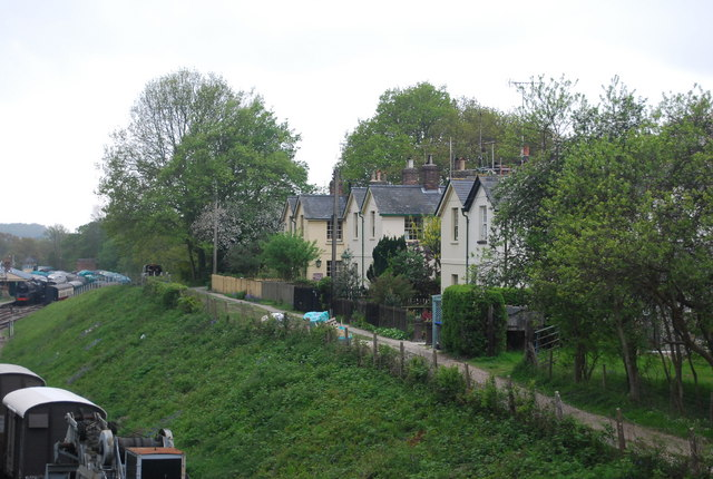 Railway Cottages near Horsted Keynes Station