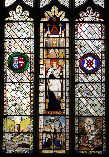 Wymondham Abbey - C19 stained glass