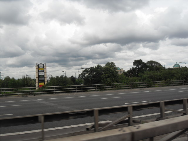 M60 Motorway - Towards the Trafford Centre