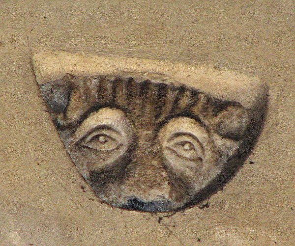 Wymondham Abbey - watchful eyes