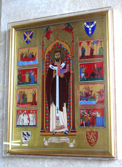 Wymondham Abbey - the Becket Panel