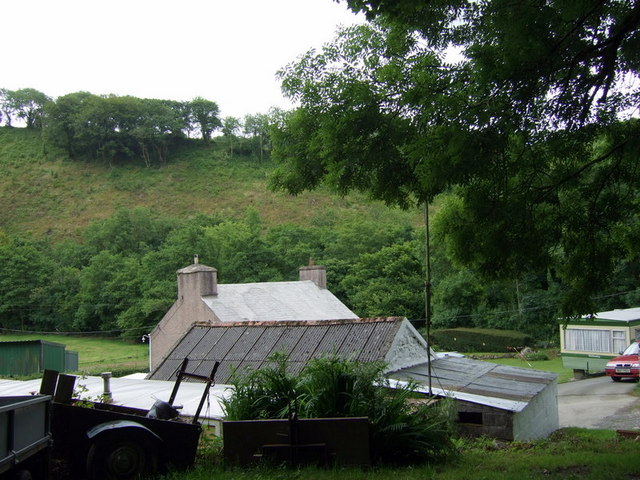 Farm near Cilrhedyn Bridge