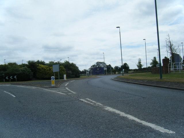 Wychwood Park roundabout
