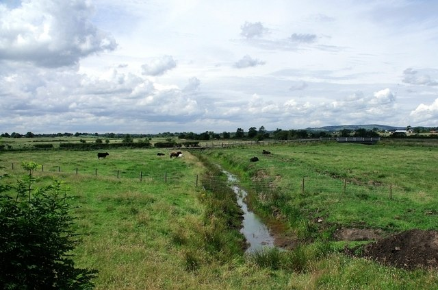The Kelvin flood plain