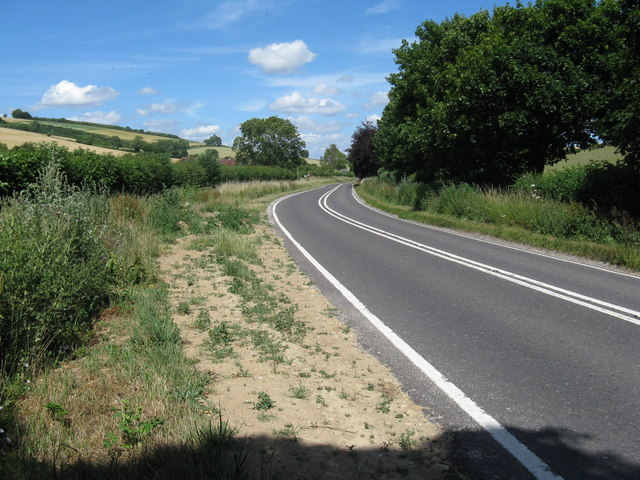 The A285 NE to Duncton and Petworth