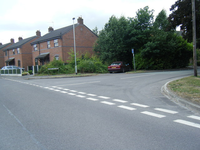 Bower End Lane/Moss Lane junction