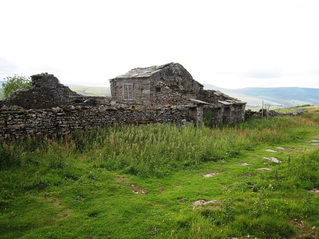 Ruined building at High Dyke