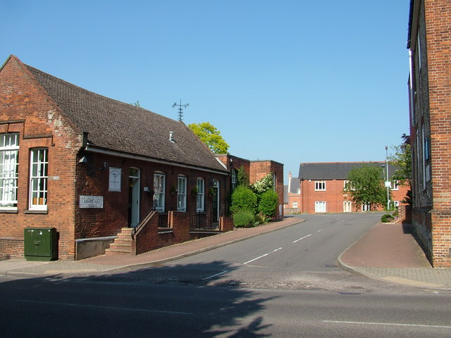 Business park on old school premises