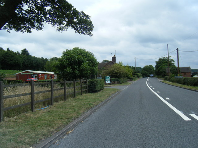 Brookfields Farm Shop next to A51