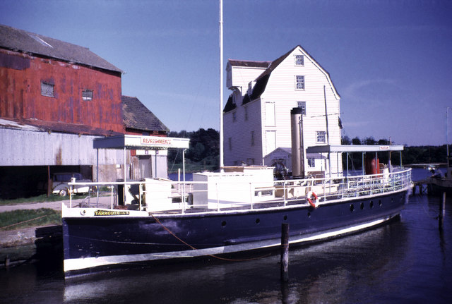 Woodbridge Tide mill 1973