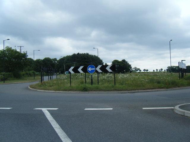 A51/A519 roundabout