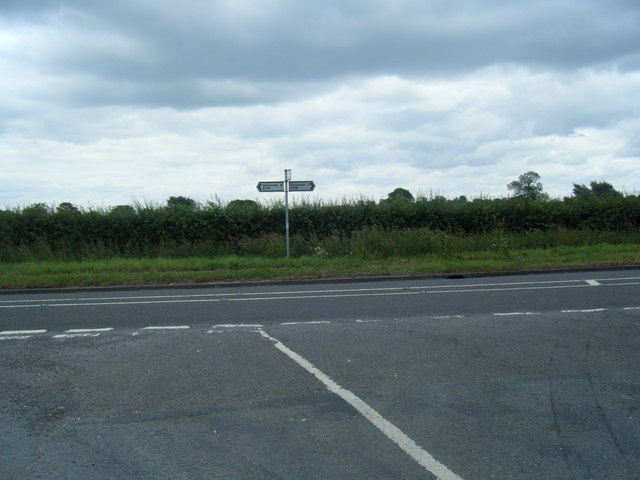 A519/Birchouse Lane junction