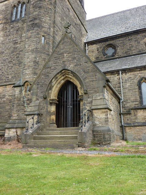 Christ Church, Bacup, Porch