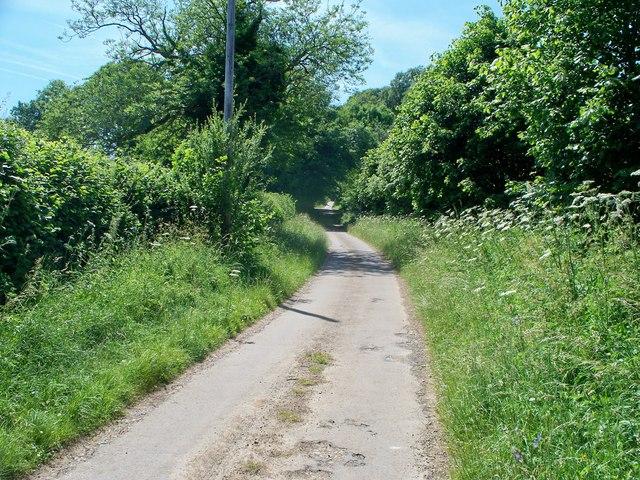 Towards Winchcombe