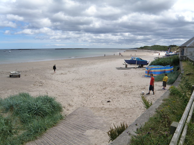 Slipway  and  Beach  at  Low  Newton
