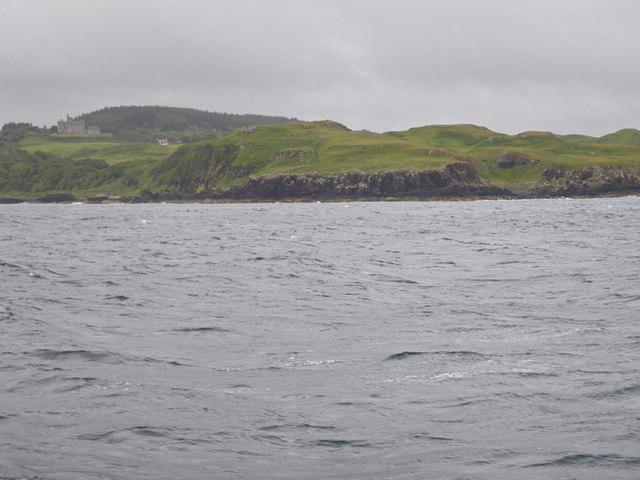 Promontory not far from Dun Ara