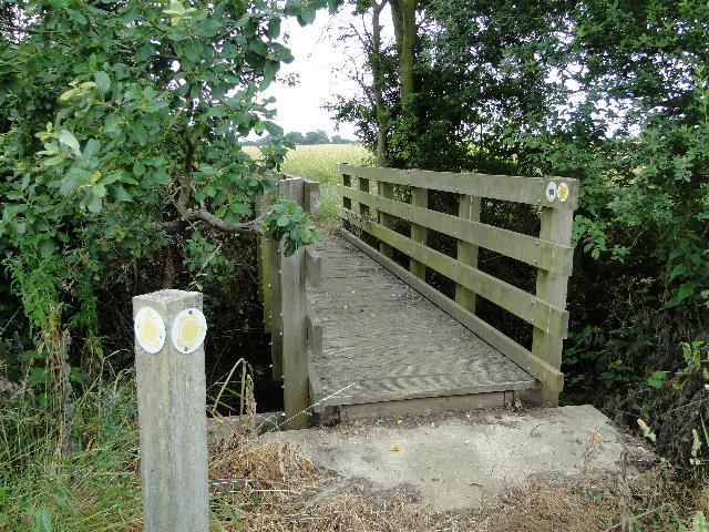 Footpath Footbridge