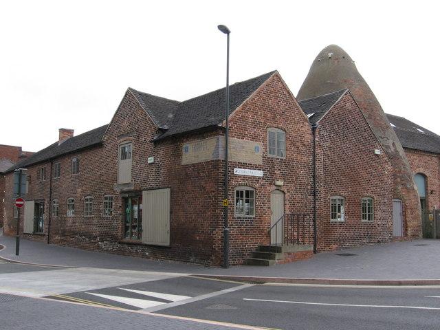 Swadlincote - Sharpes Pottery