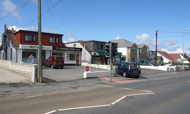 Shops on Henver Road