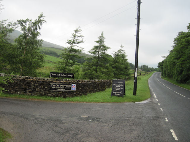 Widdale Dairy Farm Restaurant entrance