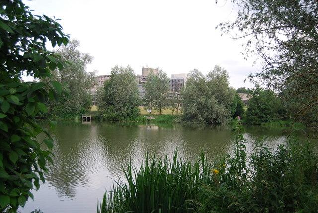 UEA: Suffolk Terrace across The University Broad
