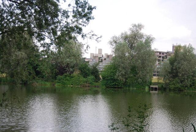 UEA Campus across University Broad