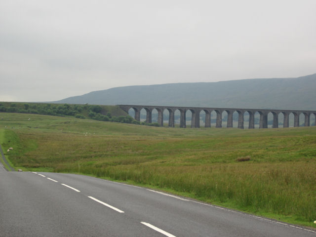Ribblehead Viaduct from B6255