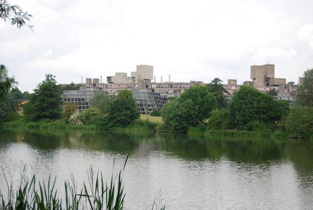 UEA: Norfolk Terrace across University Broad