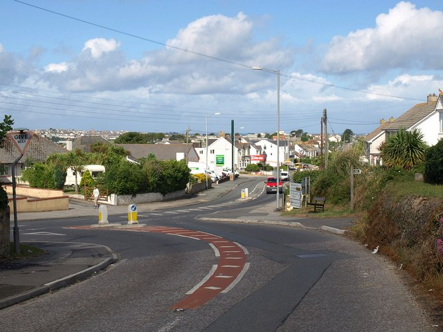 Junction at St Columb Minor