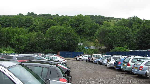 Car park, Coombe Valley Industrial Estate