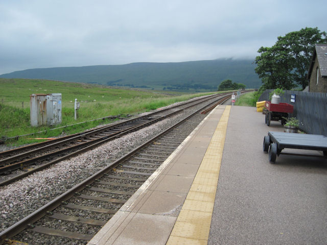 Ribblehead station looking north