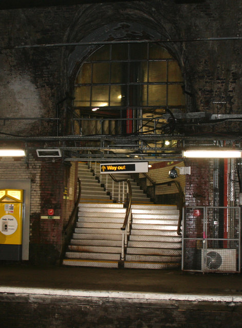 Liverpool James Street underground... © Dr Neil Clifton :: Geograph Britain and Ireland