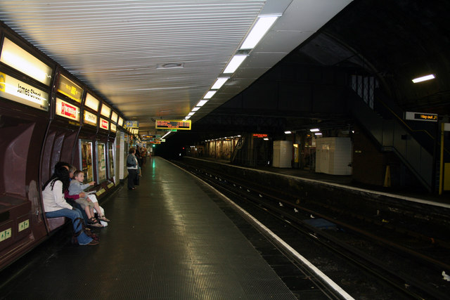 Liverpool James Street underground station