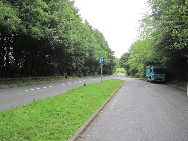 Lay by on A683 near Caton