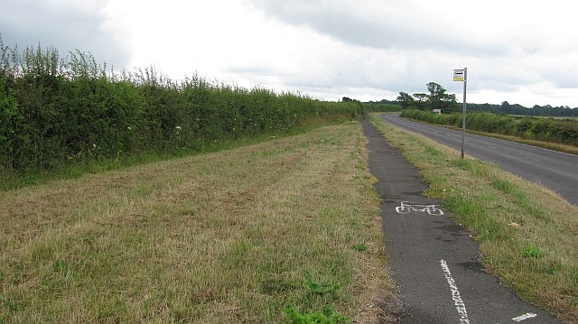 """Cycle path"", Botley Hill"