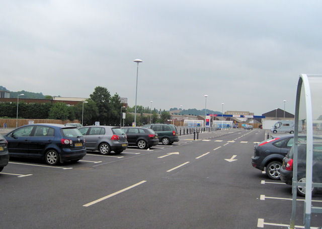Newtown Tesco Car Park