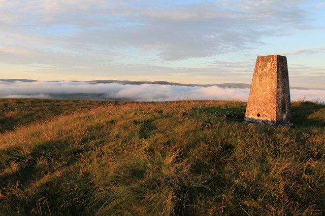 Triangulation Point on Mendick Hill