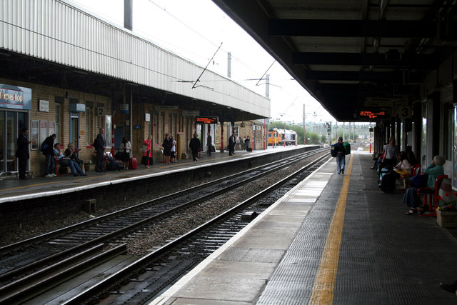 Warrington Bank Quay Station