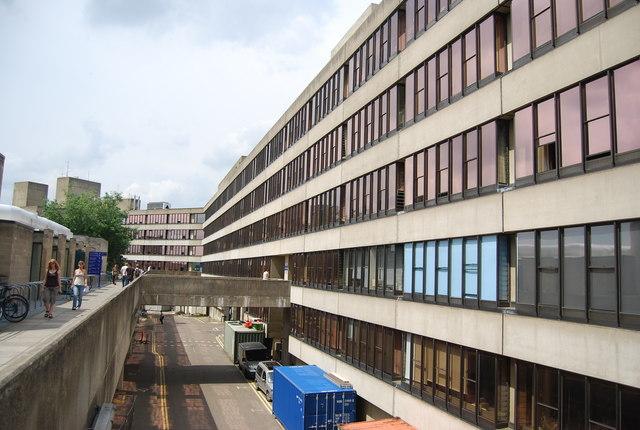 UEA: teaching wall, Arts building