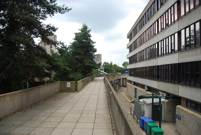UEA: elevated walkway