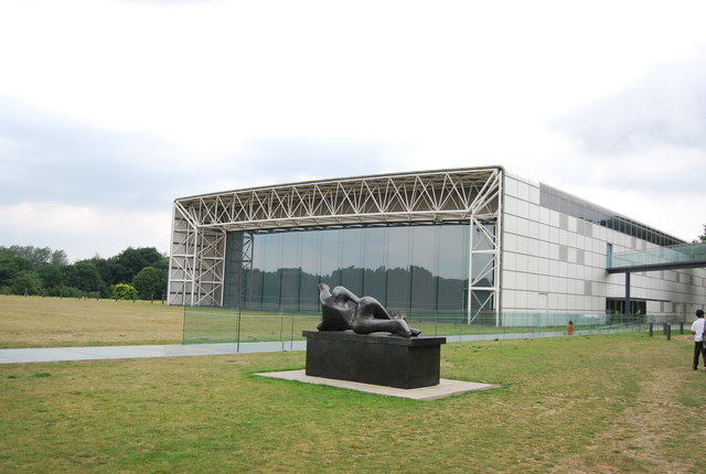 Modern sculpture and The Sainsbury Centre