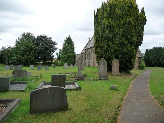 Yafford churchyard