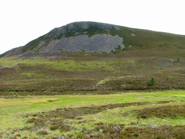 Western slopes of Creag Ealraich
