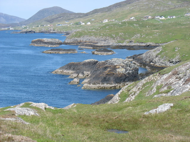 West coast of Rubha Reinis (Renish Point)