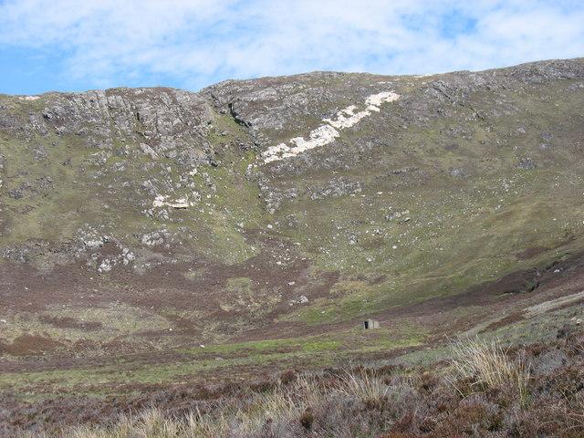 Beinn Tharsuinn north-west ridge