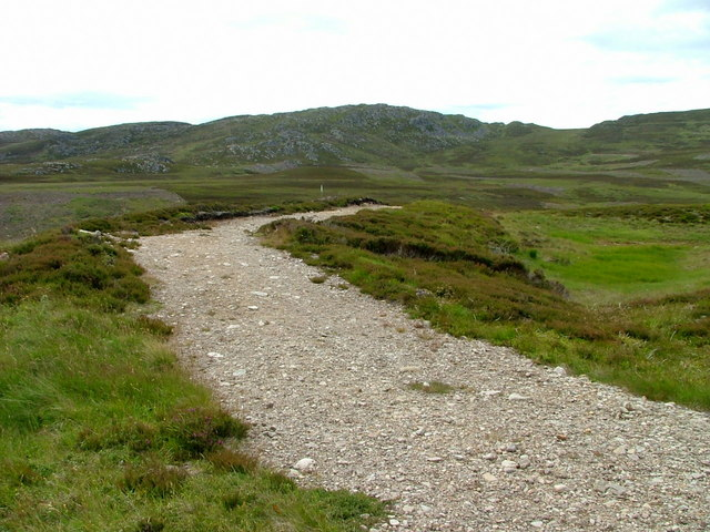 Track over the grouse moor