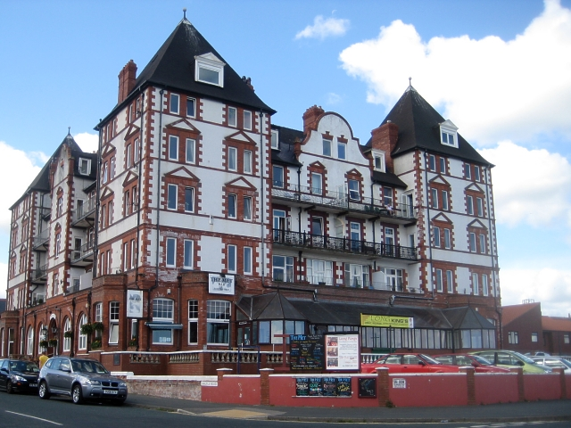 The former Metropole Hotel, Argyle Road